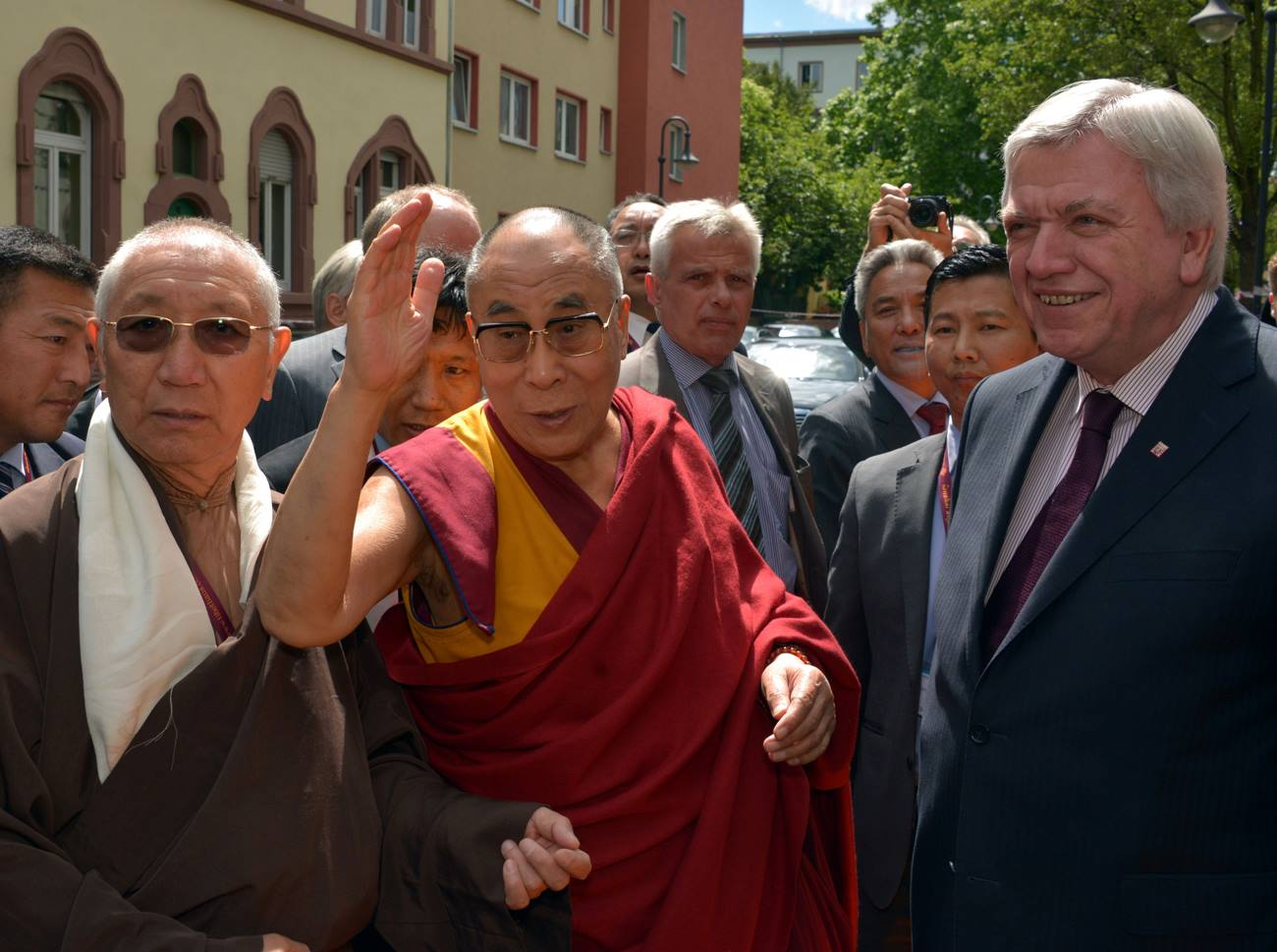 Dalai Lama Besuch